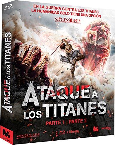 Ataque a los Titanes – Parte 1 y 2 [Blu-ray] 61pKtNbQLCL