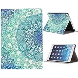 Yistu Case Cover For iPad Mini 1 2 3 Retina , Stylish Floral Pattern Flip Stand Leather Case Cover For iPad Mini 1 2 3 Retina