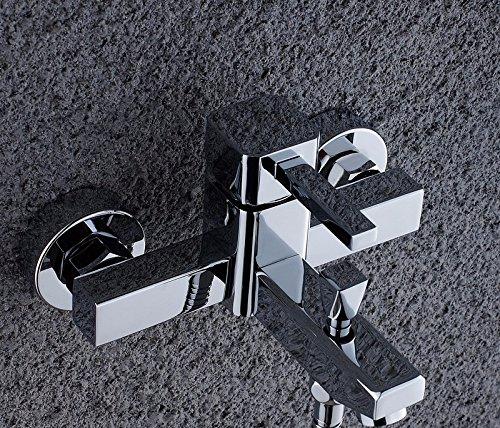 Preisvergleich Produktbild STAZSX DuscheWasserhahnkalteundwarmeBadewanneWasserhahnBadBathroomshowerSet,9956einzelneBad/Dusche-Mixer