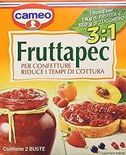 Cameo Fruttapec 3:1 per Confetture, Confezione da 2 Bustine, 90g