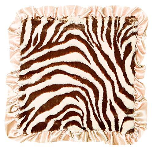 06e46797f Max Daniel Baby Plush Print Security Blanket - Tan Zebra by Max Daniel  Designs