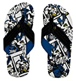 Batman Comic All Over Print Superhero Flip Flops Sandals | XL