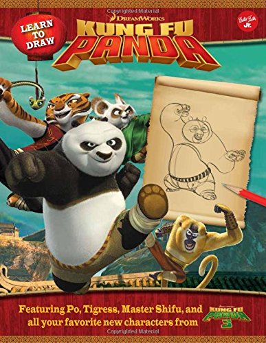 Learn to Draw DreamWorks Animation's Kung Fu Panda: Featuring Po, Tigress, Master Shifu, and All Your Favorite New Characters from Kung Fu Panda 3! (Tigress Master)