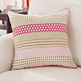 Home Sofa Car Decoration Ornament Hold Throw Pillow Cushion Christmas Valentine Gift Pure sofa pillow home pillow pink dormitory bed cushion ,65x65cm,A