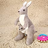 Best Stuff Animals - Skylofts Kangaroo Mother with Baby Stuffed Soft Toy Review