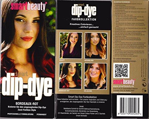 Smart Beauty-smart dip-dye, Bordeaux-Rot, 85g (Dye Rotes Dip)