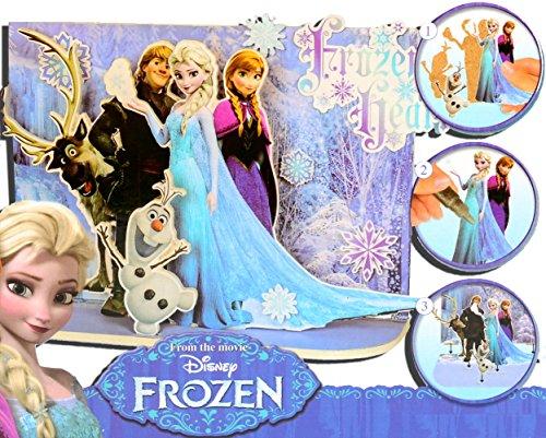 Brigamo FR16901 - Disney Frozen Eiskönigin Filmszene Bastelset aus Holz thumbnail