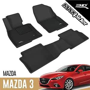 3d Maxpider Allwetter Fussmatten Für Mazda 3 Mazda3 2014 2018 Passgenaue Fußmatten Auto Gummi Matten Gummimatten Auto
