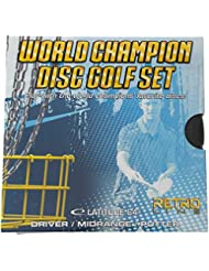 Latitude World Champion Disc Golf Set 3 Discs Putter Midrange Driver