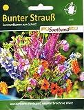 Sommerblumen zum Schnitt Bunter Strauß Saatband 2m