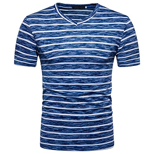 Mymyguoe Herren Kurz T-Shirt Tarnen V-Ausschnitt Fitness-Shirts Tops Hemden für Herren Sweatshirts Solide Pullover Poloshirts Loose Fit Fun-T-Shirts Herrenbekleidung Running-Shirts Sommer