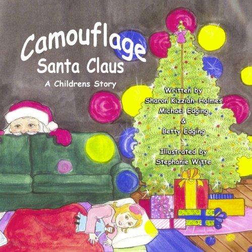 Camouflage Santa Claus -