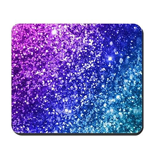 CafePress–Glitter Bokeh–Rutschfester Gummi-Mauspad, Gaming Maus Pad
