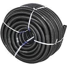 Yahee 1/2' Poolschlauch Solarschlauch Schlauch 50M für Schwimmbad, alle 100 cm teilbar mit 140g/m, 38mm, schwarz