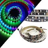 GOESWELL LPD8806 RGB LED Streifen DC5V 48 LEDs 24ICs 1 Meter DC 5V (LPD8806-48LED 1M)