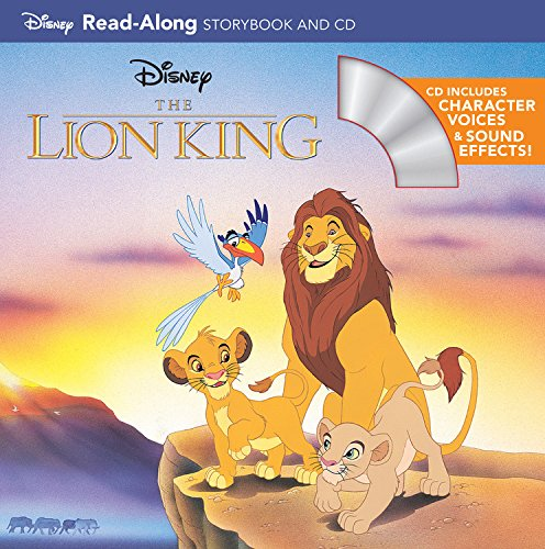 The Lion King Read-Along Storybook (Read-Along Storybook and CD)