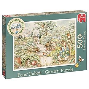 Jumbo Peter Rabbit Classic Puzzle 500 pcs Puzzle - Rompecabezas (Puzzle Rompecabezas, Dibujos, Adultos, Niño/niña, 12 año(s), Interior)