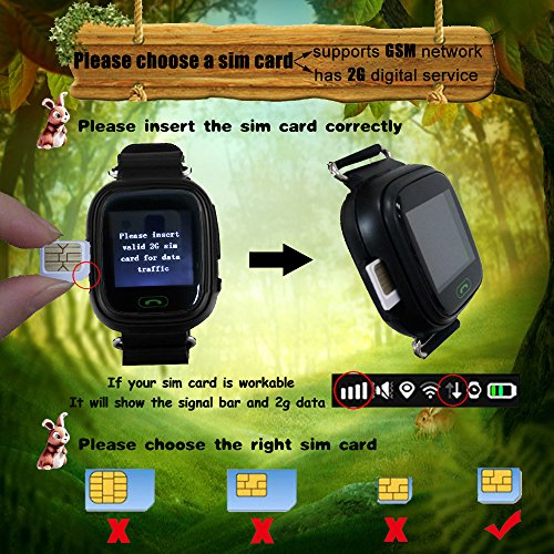 Kids GPS Smart Watch 9Tong Childrens Smartwatch GPS Tracker GSM Sim Touch Screen Support SOS Call Voice Chatting Activity Tracker For Boys Girls