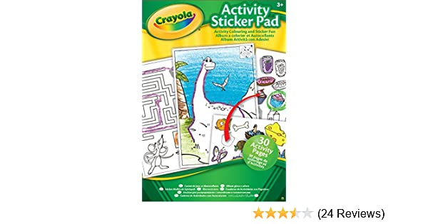 Crayola Activity Sticker Pad (Various styles): Amazon.co.uk: Toys ...