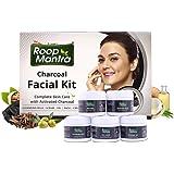 Roop Mantra Charcoal Facial Kit, 75 g
