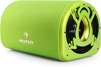 Auna C8-Sub-10A-Frog aktiver Subwoofer (25 cm (10 Zoll), 600 Watt) grün