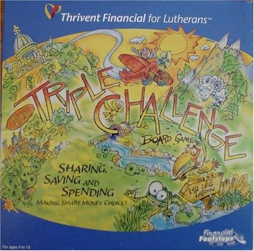 Triple Challenge Board Game; Sharing, Saving and Spending; Making Smart Money Choices