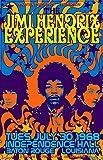 Jimi Hendrix Concert Targa in Metallo retrò Parete Targhe Cartello Decorazione Appendere Placca Latta Muro Segno per Garage Casa Bar Cucina Giardino