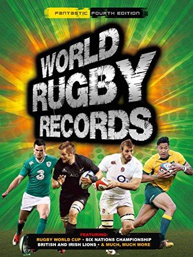 WORLD RUGBY RECORDS FOURTH EDI por Chris Hawkes