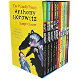 Anthony Horowitz Wickedly Funny 10 Children Books Collection Set (The Switch, Return to Groosham Grange, Granny, The Devil and his Boy, The French Confection, The Blurred Man, South by South east, Public enemy Number two, The Falcon's Malters)