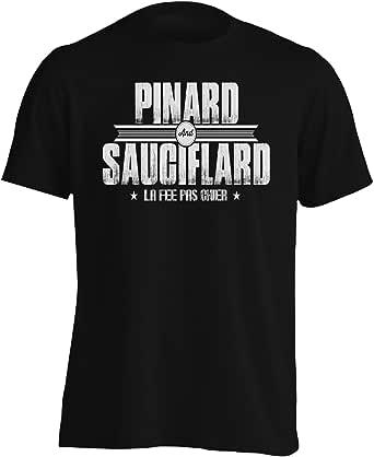 Pinard & Sauciflard La Fee Pas Chier Men's T-Shirt v770m