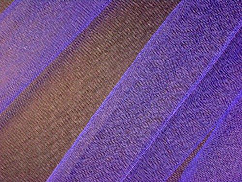 Tulle feinmaschiger en nylon violet env. 150 cm