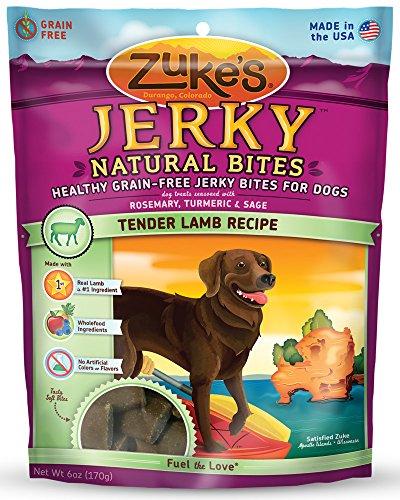 Artikelbild: Zuke Jerky Naturals Dog Treats, zartes Lamm Rezept, 6-Unze