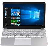 15.6 Pulgadas Ordenador Portátil Baratos, 6GB RAM 256GB SSD Laptop, Intel Celeron J3455 CPU Notebook, Windows 10 Monitor de P