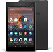 Fire HD 8 reacondicionado certificado, pantalla de 8'' (20,3 cm), 32 GB (Negro) - Incluye ofertas especiales (7ª generación -