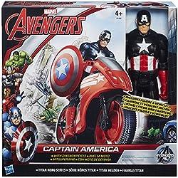 Hasbro B0431EU4 Vehículo con figura Avengers, Modelos Surtidos, 1 Unidad