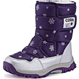 SAGUARO® Niños Botas de Nieve Impermeable Bota de Invierno Zapatos Calientes