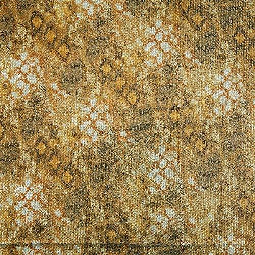Fabulous Fabrics Softmesh Pailletten Schlangenoptik - Gold - Meterware ab 0,5m - zum Nähen von Abend- und Partymode, Accessoires und Blusen