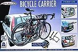 Heckklappen-Fahrradträger für alle Fahrzeugtypen, TÜV-frei, Nutzlast 30kg, 2 Fahrräder