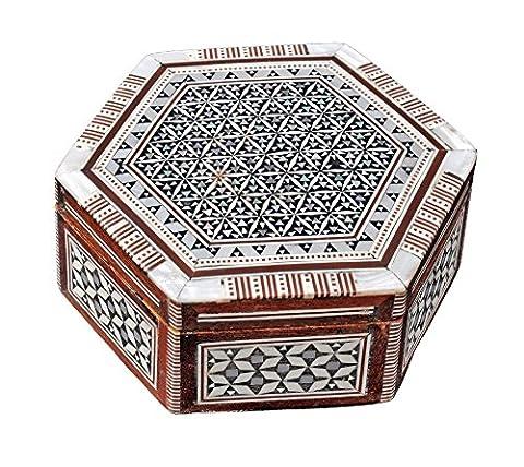 Boîte à bijoux Mosaïque égyptien BX9 en