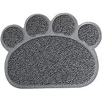 Yaheetech PVC Alfombra para Gatos Estera de Tazón Manta de Mascotas Gatos Alfombrilla para Comederos
