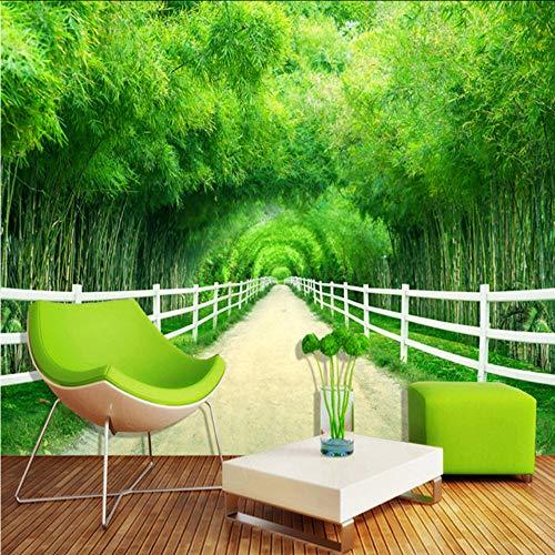 Papier peint bambou