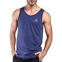 Ogeenier Men's Running Tank Top Shirt Fitness Tank Top Singlet, Quick-Dry Sports Training Vest Sleeveless T-Shirt