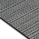 Design Bodenschutzmatte Genua in 6 Größen | dekorative Unterlegmatte für Bürostühle oder Sportgeräte (100 x 180 cm)