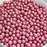 50g Knusper Perlen rot - Kuchen Deko - Essbare Perlen - AB 30,- EURO VERSANDKOSTENFREI in D!