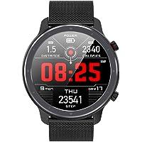 """Fesjoy 1,3""""Touchscreen Smart Watch Herzfrequenz- und EKG-Monitor Blutdruck Sauerstoff Wissenschaftlicher Schlaf Multi…"""