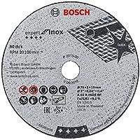Bosch 2 608 601 520 Corte del disco accesorio para amoladora angular - accesorios para amoladoras angulares (Corte del disco, Metal, Bosch, 1 cm, 7,6 cm, GWS 10.8-76 V-EC Professional)