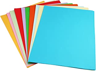 Ziggle Pack of 90+ A4 Size Multi GSM Color Paper Sheets for Art and Craft (Assorted Colors)