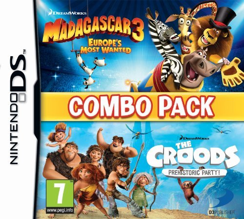 Madagascar 3/The Croods Double Pack (Nintendo DS) by Namco Bandai (Madagascar 3 Nintendo Ds)