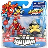 Marvel Super Hero Squad Iron Man & Tiger Shark