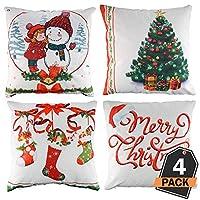 Altra Marca Mini Cuscino Natalizio Personalizzato con Ventosa Real Santa Claus Mini Federa Natalizia Standard Articoli per feste